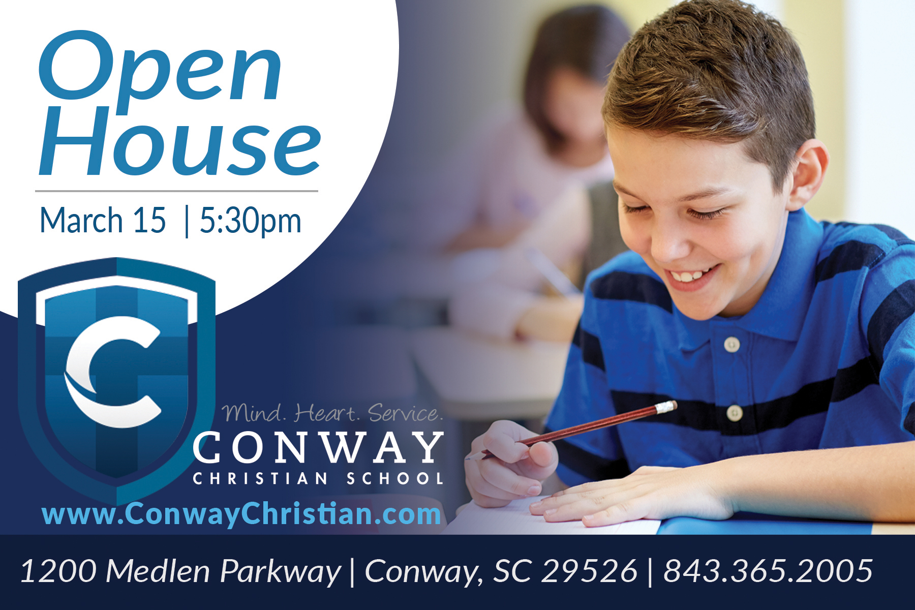 Open House Scheduled for March 15!
